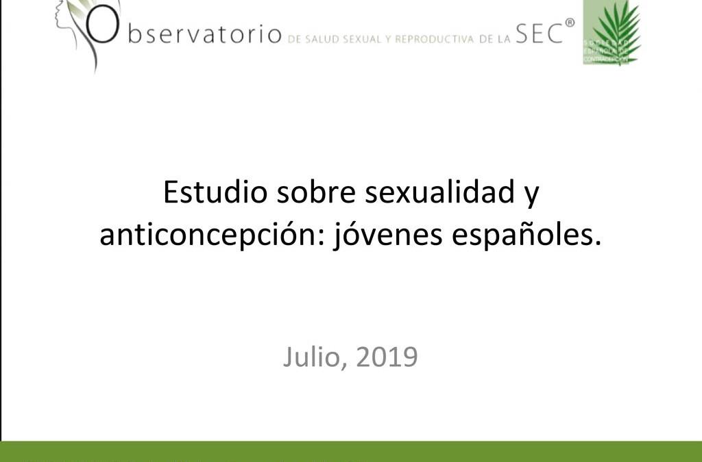 Encuesta nacional sobre sexualidad y anticoncepción entre los jóvenes españoles