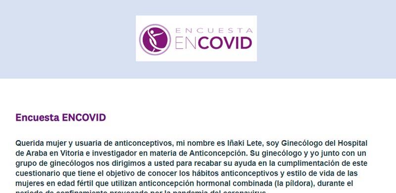 ¿Conoces el proyecto Encovid?