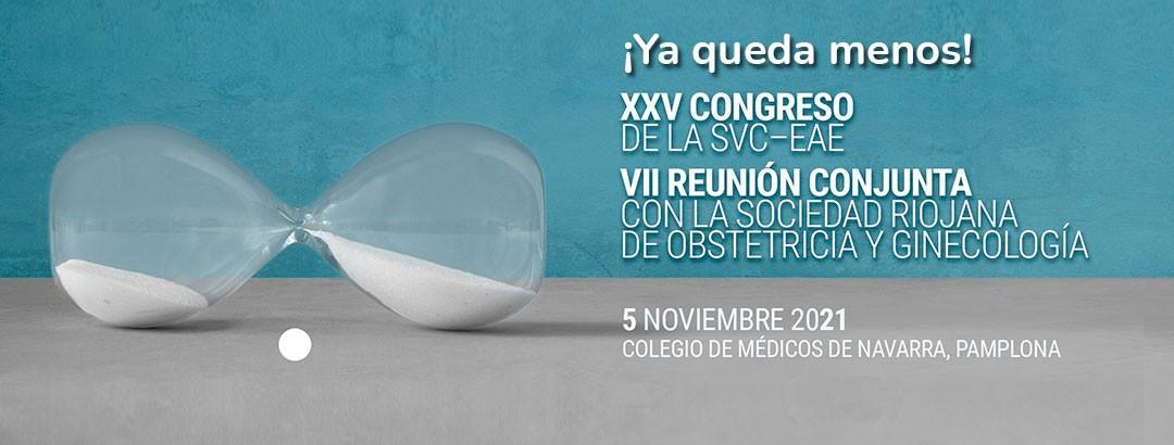 Fecha límite inscripción y programa definitivo – XXV congreso de la SVC_EAE y VII reunión conjunta con la sociedad riojana de obstetricia y ginecología